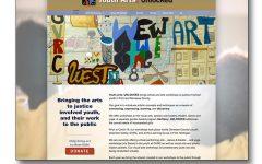 Youth Arts: Unlocked Website